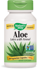 Nature's Way アロエ(茎と根)140 mg 100ベジカプセル