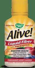 Nature's Way Alive! プレバイオティクス配合リキッドファイバー ザクロ-ベリー味 480 ml