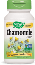 Nature's Way カモミール 花 350 mg 100ベジカプセル