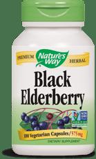 Nature's Way ブラックエルダーベリー 575 mg 100ベジカプセル