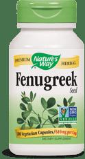 Nature's Way フェヌグリークシード 610 mg 100 ベジカプセル