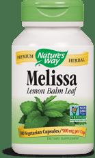 Nature\'s Way Melissa 500 mg 100ベジカプセル