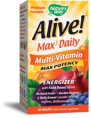 Nature's Way Alive! マックス3 デイリー マルチビタミン 90錠