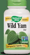 Nature's Way ワイルドヤムルート 425 mg 180ベジカプセル