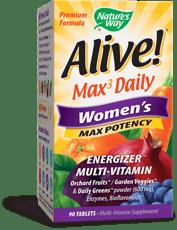 Nature\'s Way アライブ! マルチビタミン マックスポテンシー 女性用 90 錠
