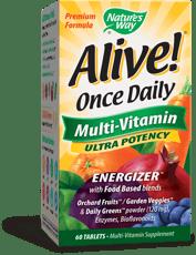 Nature's Way Alive! 1日1錠 マルチビタミン 60錠