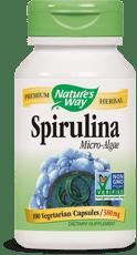 Nature's Way スピルリナ微細藻類 380 mg 100ベジカプセル