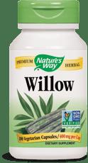 Nature's Way ホワイトウィロー 100 ベジカプセル