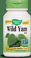 Nature's Way ワイルドヤムルート 425 mg 100 カプセル