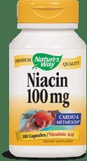 Nature's Way ナイアシン100 mg ニコチン酸 100カプセル