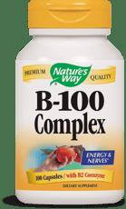 Nature\'s Way B-100 コンプレックス(B2コエンザイム配合) 100カプセル