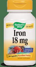 Nature's Way アイロン 18 mg 100カプセル