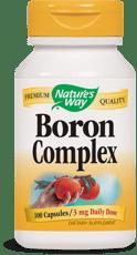 Nature's Way ボロン(ホウ素)複合サプリ 3 mg 100カプセル