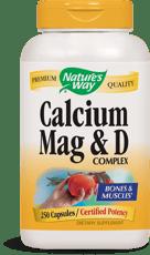 Nature's Way カルシウム マグネシウム & ビタミンD コンプレックス 250 カプセル