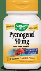 Nature's Way ピクノジェノール パインバーク エキス 50 mg 30 錠