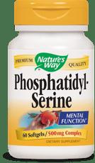 Nature's Way ホスファチジルセリン 500 mg 60 ソフトジェル