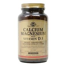 Solgar カルシウム マグネシウム ウィズビタミン D3 150 錠