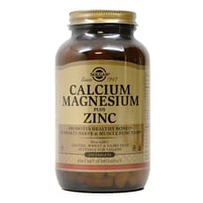 Solgar カルシウムマグネシウムプラス亜鉛 250 錠