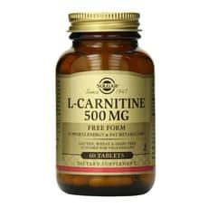 Solgar L-カルニチン 500 mg 60錠