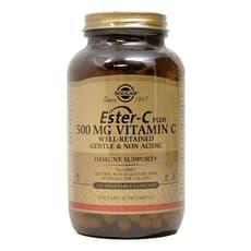 Solgar エステルCプラスビタミンC 500 mg 250 ベジカプセル