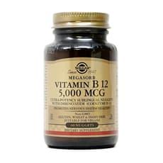 Solgar ビタミンB12 5,000 mcg 60舌下錠