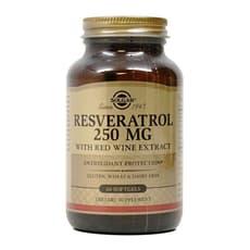 Solgar レスベラトロール 250 mg 60ソフトジェル
