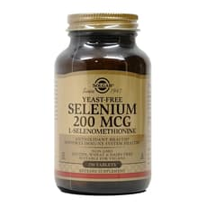 Solgar セレニウム無酵母 200 mcg 250錠