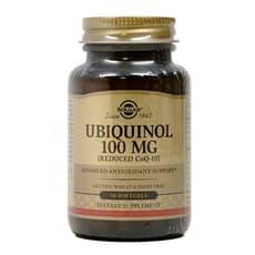 Solgar ユビキノール(還元型CoQ-10) 100 mg 50ソフトジェル
