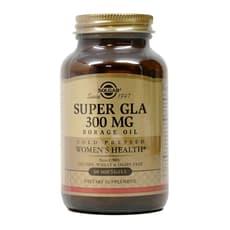 Solgar  スーパーGLAルリヂサオイル 300 mg 60ソフトジェル