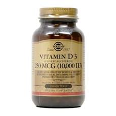 Solgar ビタミンD3 (コレカルシフェロール) 10,000 IU 120ソフトジェル