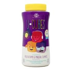 Solgar Uキューブ子供用マルチビタミン&ミネラル 120グミ