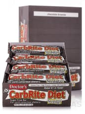 Universal Nutrition Doctor's CarbRite Diet Chocolate Brownie 12 Bars