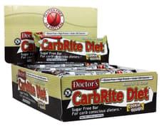 Universal Nutrition Doctors CarbRite Diet Sugar Free Cookie Dough 12 Bars