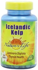 Nature\'s Life Icelandic Kelp 500 Tablets