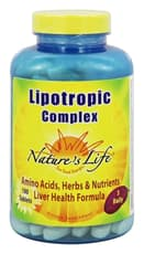Nature\'s Life Lipotropic Complex 180 Tablets