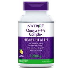 NATROL オメガ 3-6-9 コンプレックス レモン味 90ソフトジェル