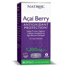 NATROL アサイベリー エキストラ ストレングス 1,200 mg 60カプセル