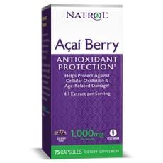 NATROL アサイーベリー 1,000 mg 75ベジカプセル