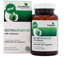 Futurebiotics Acneadvance with Colostrum 90 Veg Tablets