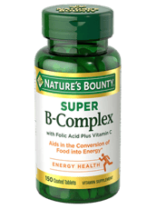 ネーチャーズバウンティ スーパー B-コンプレックスと葉酸プラスビタミンC 150錠