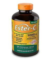 American Health エスターC 1,000 mg 180 ベジタブレット