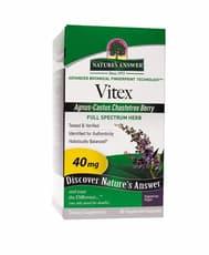 Nature's Answer Vitex Agnus-Castus Chastetree Berry 90 Veg Capsules