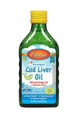 Carlson Labs 液体子供 肝油 レモン風味 250 ml