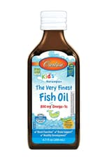 Carlson Labs The Very Finest Fish Oil for Kids Orange 6.7 fl oz