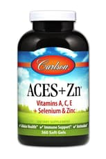 Carlson Labs Aces +Zn 360ソフトジェル