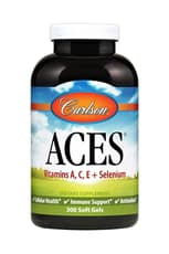 Carlson Labs ACES Antioxidants 300 Softgels