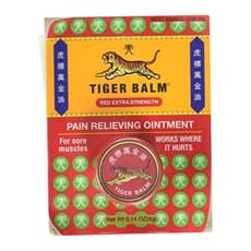 Tiger Balm Pain Relieving Ointment Red Extra Strength 0.14 oz