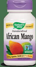 Nature's Way 標準化アフリカンマンゴー 60ベジカプセル