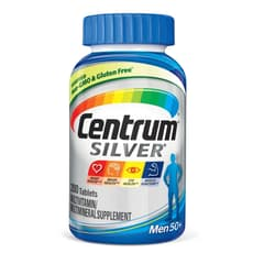 Pfizer セントラムシルバー メンズ 50+ マルチビタミン 200 錠