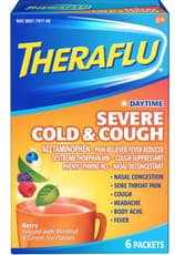 Theraflu 昼間用 ひどい風邪と咳 6パケット